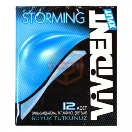 Vivident Storming 33gr Damla - 18li Paket | Gıda Ambarı