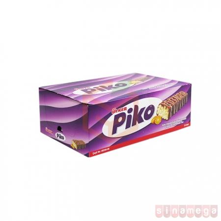 Ülker Piko Pirinçli Sütlü Çikolata 18gr (ü-1149-02) - 24lü Paket    Gıda Ambarı