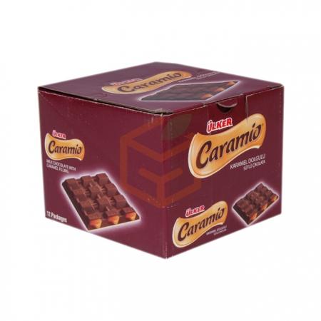 Ülker Caramio 55gr (kare)(ü-14-12-07) - 12`li Paket | Gıda Ambarı