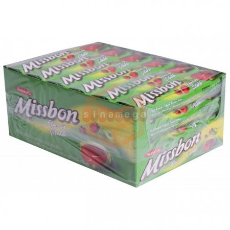 Kent Missbon Elma Çilekli 43gr - 24lü Paket  | Gıda Ambarı