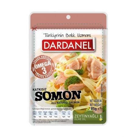 Dardanel (poşet) Pouch Zeytin Yağlı Somon 85gr - 12li Paket