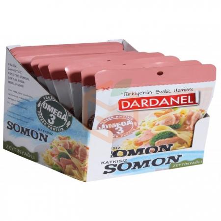 Dardanel (poşet) Pouch Zeytin Yağlı Somon 85gr - 12`li Paket   Gıda Ambarı
