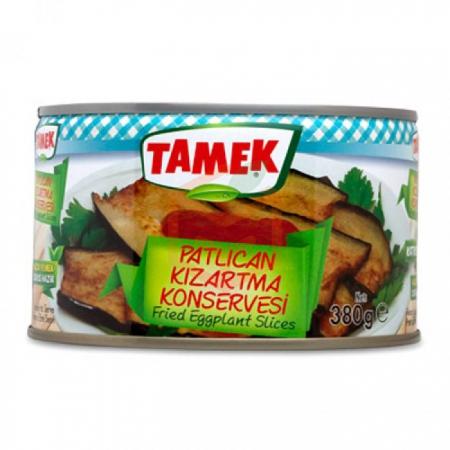 Tamek 1/2 Patlıcan Kızartma (380gr) - 12li Koli  | Gıda Ambarı