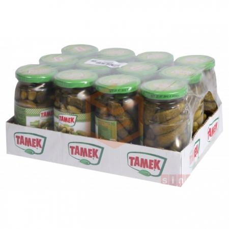 Tamek Kornişon Salatalık 720cc - 12`li Koli | Gıda Ambarı