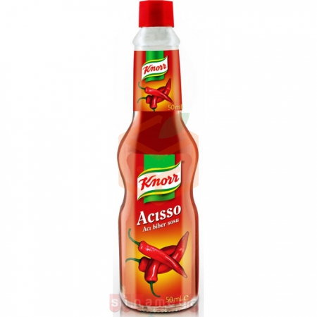 Knorr Acısso Acı Biber Sosu 50ml - 6`lı Paket | Gıda Ambarı