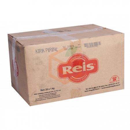 Reis 1000gr Kırık Pirinç - 20li Paket  | Gıda Ambarı