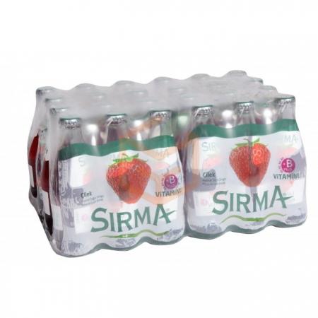 Sırma Meyveli Soda B Plus 200cc 6`lı Çilek - 4`lü Koli | Gıda Ambarı