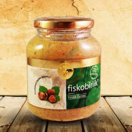 Fiskobirlik Fındık Ezmesi 180gr - 12`li Koli | Gıda Ambarı