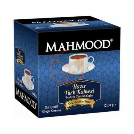 Mahmood Hazır Türk Kahvesi 8gr Orta-12`li Paket | Gıda Ambarı