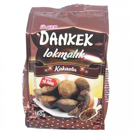 Ülker Dankek Lokmalık Kakaolu 180gr - 8li Koli    Gıda Ambarı