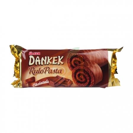 Ülker Dankek Rulo Pasta Çikolatalı 235gr(ü-00669-02) - 8`li Koli | Gıda Ambarı