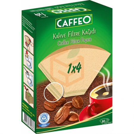 Kahve Filtre Kağıdı Caffeo 80li Paket (adet K:18)  | Gıda Ambarı