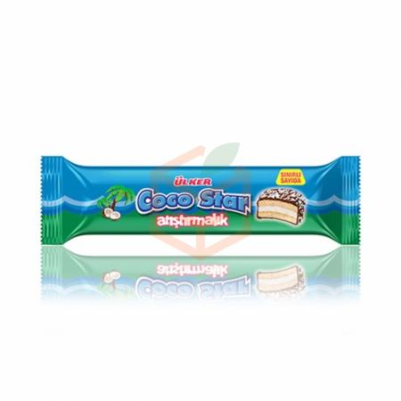 Ülker Coco Star Atıştırmalık 66gr -24lü Koli  | Gıda Ambarı