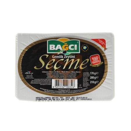 Bağcı Siyah Zeytin Seçme 200gr-12`li Paket (k:4) | Gıda Ambarı