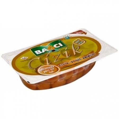 Bağcı Çizik Yeşil Zeytin 200gr -12`li Paket (k:4) | Gıda Ambarı