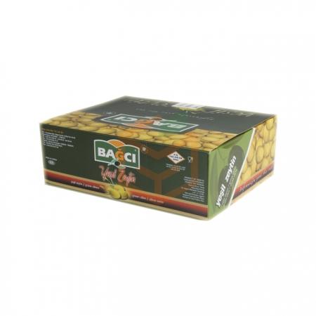 Bağcı Biberli Yeşil Zeytin 200gr-12`li K:4 | Gıda Ambarı