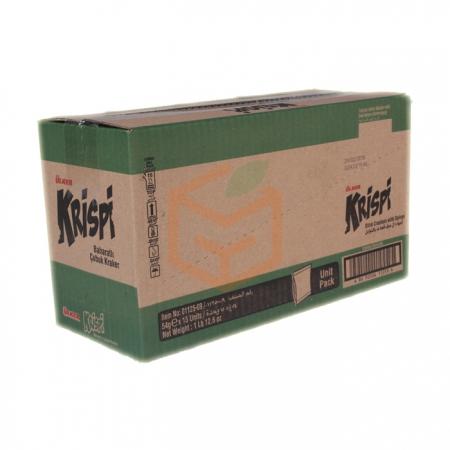 Ülker Krispi Baharatlı Çubuk Kraker 43gr-15li Koli    Gıda Ambarı