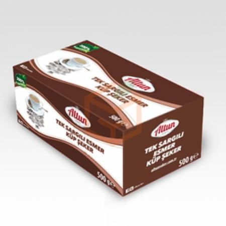 Altun Esmer Toz Şeker 500gr - 12`li Koli | Gıda Ambarı