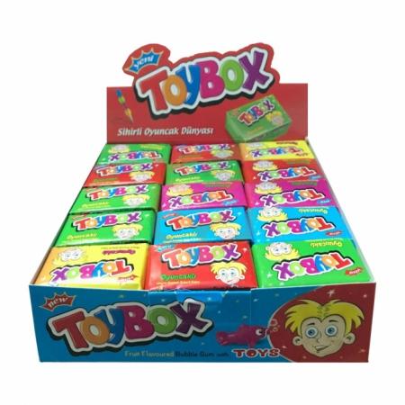 Toybox Oyuncaklı Sakız-30lu Paket    Gıda Ambarı