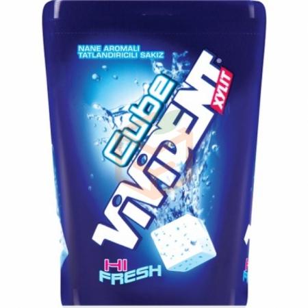 Vivident (mega Comfort Pack) Cube Hı Fresh Nane 86gr-10`lu Paket | Gıda Ambarı