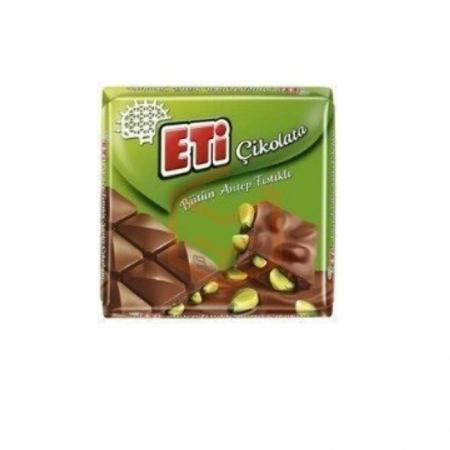 Eti Çikolata Antep Kare 60gr (k:63753) -6`lı Paket | Gıda Ambarı