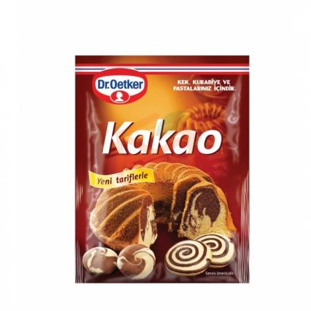 Dr.oetker Kakao 50gr -24lü Koli  | Gıda Ambarı
