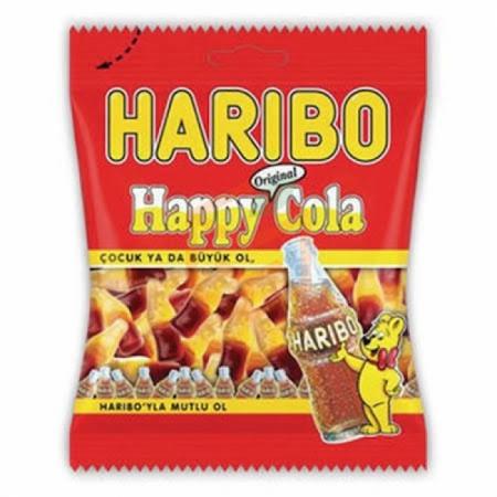Haribo Happy Cola 80gr - 24lü Koli  | Gıda Ambarı