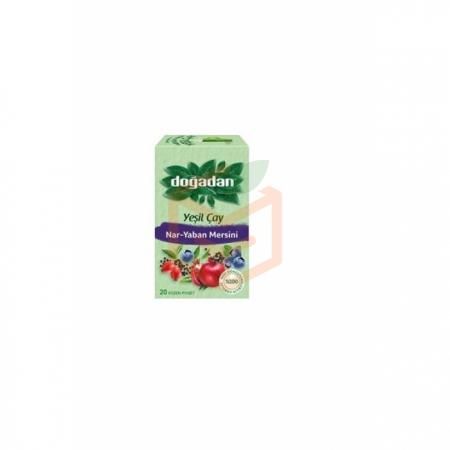 Doğadan Yeşil Çay Nar Yaban Mer.antioksidanlı 20`li -12`li Koli | Gıda Ambarı