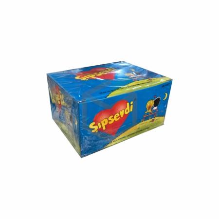 Şıpsevdi Çilek-muz Aromalı Balonlu Sakız -100lü Paket    Gıda Ambarı