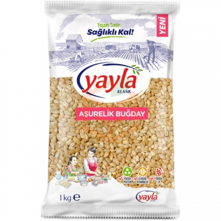 Yayla 1000gr Aşurelik Buğday -16`lı Koli | Gıda Ambarı