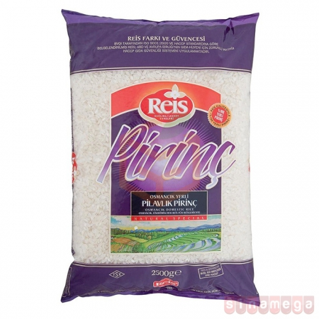 Reis 2500gr Osmancık Pirinç - 6lı Koli    Gıda Ambarı
