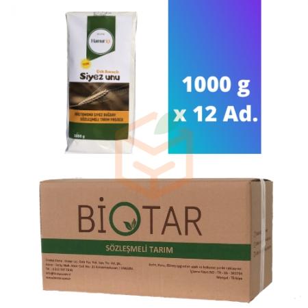 Biotar Hamuriçi Çok Amaçlı Siyez Unu 1000 G X 12 Adet | Gıda Ambarı