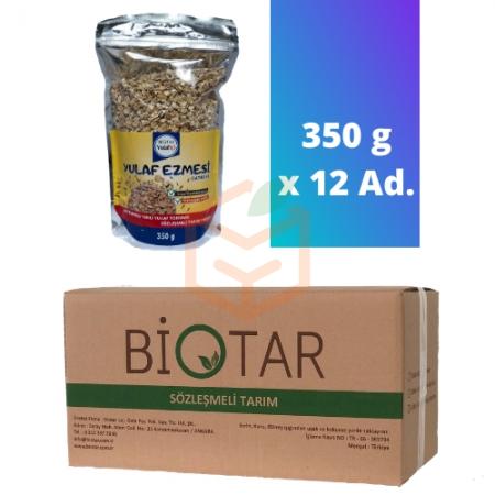 Biotar Yulafiçi İnce Haddelenmiş Yulaf Ezmesi 350 G X 12 Adet | Gıda Ambarı