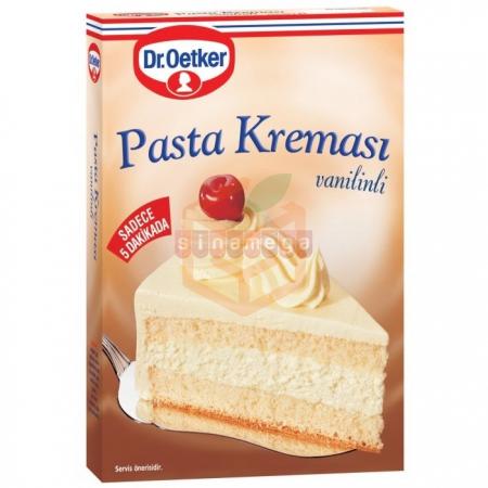 Dr.oetker Pasta Kreması Vanilinli 136gr - 12li Koli | Gıda Ambarı