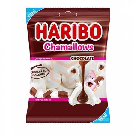 Haribo Chamallows Chocolate 62gr -24lü Koli  | Gıda Ambarı