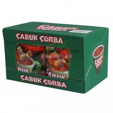 Knorr Çabuk Çorba Kıtırlı Domtates - 24lü Paket    Gıda Ambarı