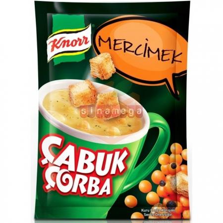 Knorr Çabuk Çorba Mercimek - 24lü Paket  | Gıda Ambarı