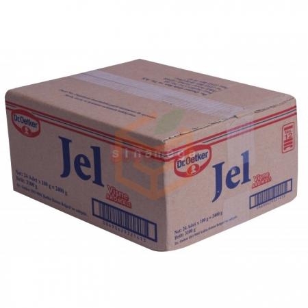 Dr.oetker Jel Vişne Aro.100gr - 24lü Paket | Gıda Ambarı