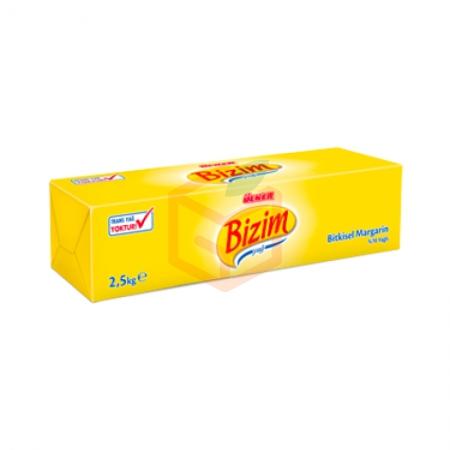 Bizim Blok Margarin 2,5 Kg*6 | Gıda Ambarı