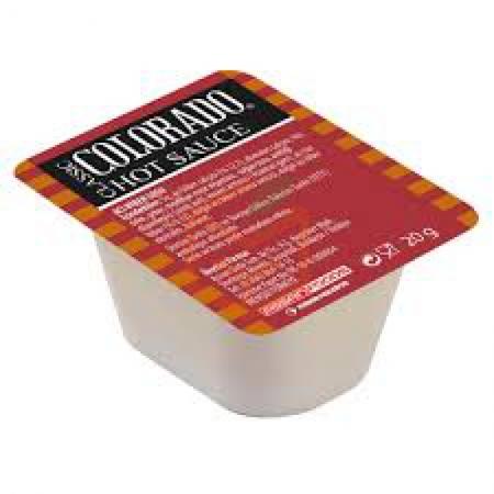 Colorado Küvet Hot Chili Sos 20gr*120 | Gıda Ambarı