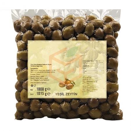 Yeşil Zeytin Çizik - Paketli | Gıda Ambarı