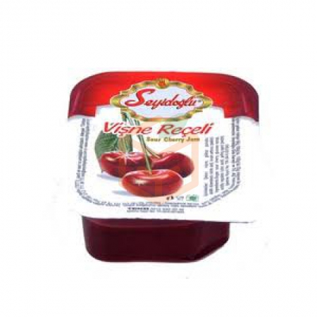 Seyidoğlu Piknik Reçel Vişne 20gr*100 (100 Adet) | Gıda Ambarı