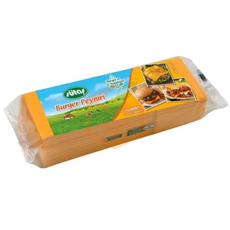Sütaş Cheddar Burger Peyniri 1 Kg (2 Kg)