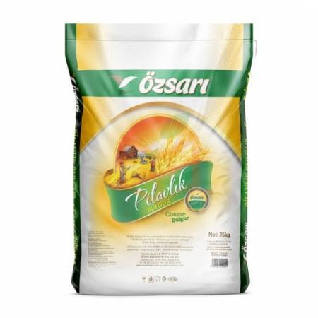 Özsarı Pilavlık Bulgur Çuval (25 Kg) | Gıda Ambarı