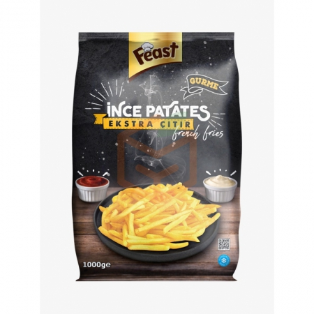 Feast Dondurulmuş Parmak Patates 7*7 Mm 1 Kg (min. 2 Kg) | Gıda Ambarı
