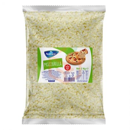 Nutrica Küp Mozzarella 2 Kg (min. 2 Kg)   Gıda Ambarı