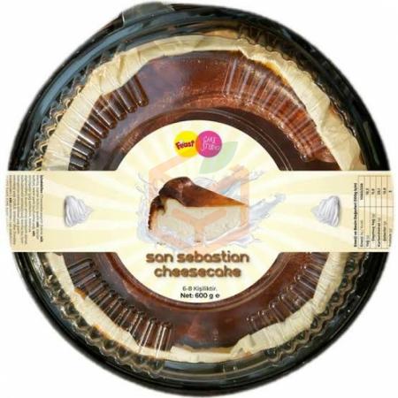 Feast Cake Studio San Sebastian 600 Gr | Gıda Ambarı