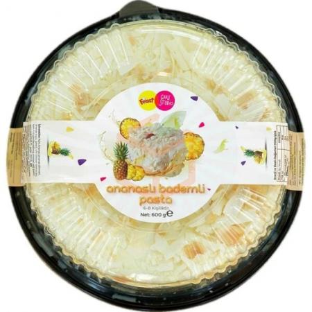 Feast Cake Studio Ananaslı Bademli 600 Gr | Gıda Ambarı