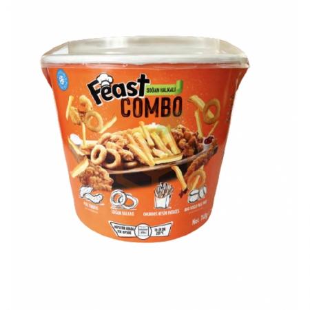 Feast Combo Soğan Halkalı 740 Gr | Gıda Ambarı