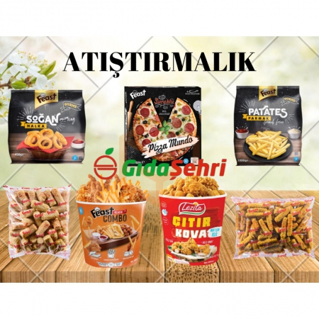 Atıştırma Paketi | Gıda Ambarı